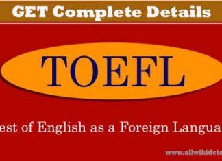 TOEFL EXAM Details