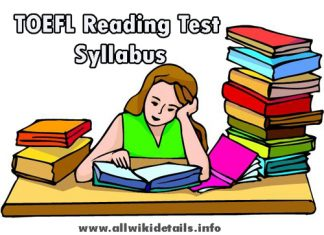TOEFL Reading Test Syllabus