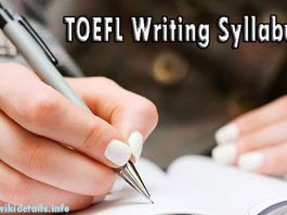 TOEFL Writing Test Syllabus