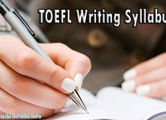 TOEFL Writing Test Syllabus