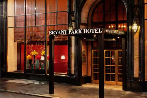 The Bryant Park Hotel in New York