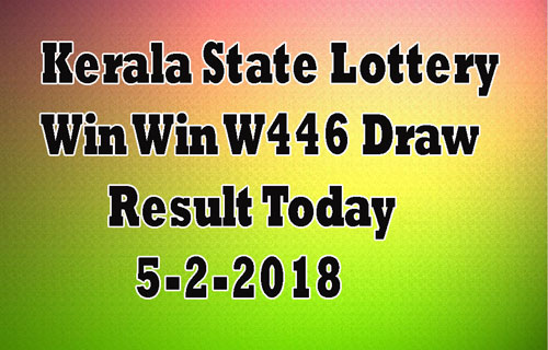 Win Win Lottery W446 Result Today